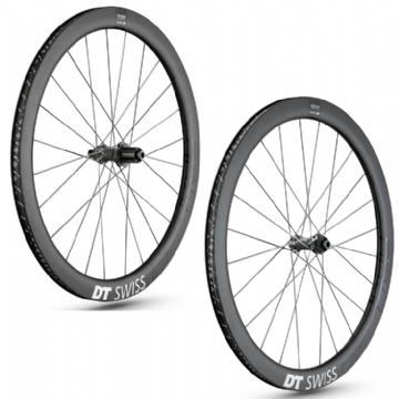 Paire de roues carbone ERC 1400 SPLINE 47 Disc DT SWISS